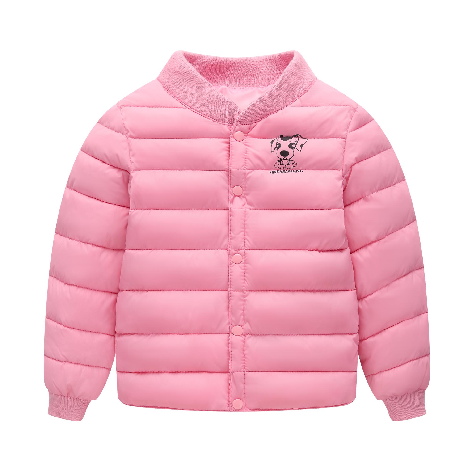 宝宝反季衣服冬装儿童羽绒棉服男童女童内胆棉袄婴儿轻薄短款棉衣
