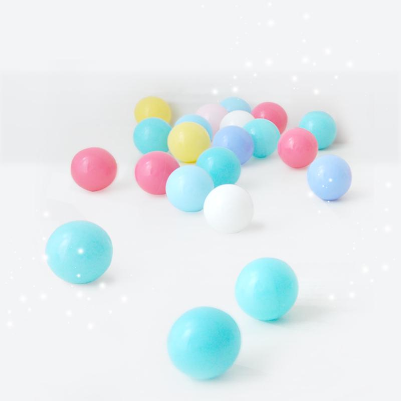 babygo遊樂園海洋球波波球彈力嬰兒童玩具球彩色球PE球加厚環保
