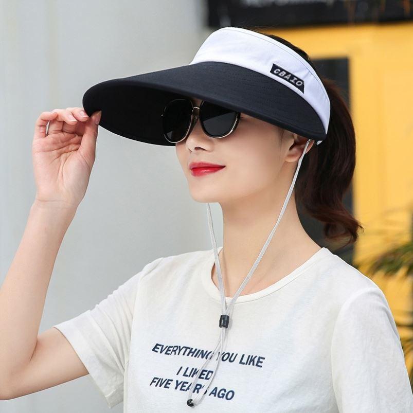 中國代購|中國批發-ibuy99|高尔夫|空顶帽跑步运动遮阳帽男女夏天太阳帽户外登山高尔夫帽子防晒帽子