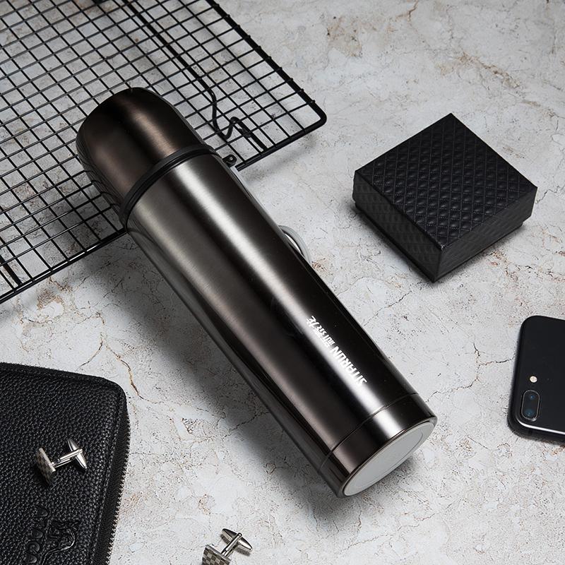 新泰龙304不锈钢保温杯ins男女学生儿童便携定制保温水杯壶大容量