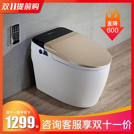 摩迈原装智能马桶一体自动翻盖家用坐便器无水箱电动即热遥控冲洗图片