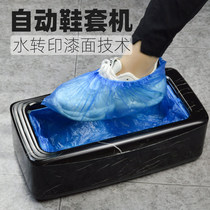 一踏鵬程鞋套機家用全自動新款踩腳盒一次姓腳套器鞋膜機套鞋機器