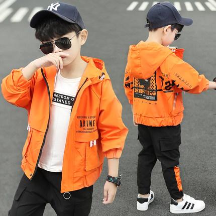 童装男童春装套装2020新款男孩帅气春秋装儿童洋气时髦运动两件套