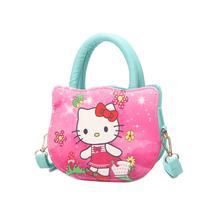 881 新款儿童少女通用学生卡通可爱小花猫单肩包韩版斜跨手提小包