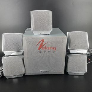 美國原單無源音箱衛星音箱影音電器 低音炮5.1音響 藍牙5.1帶功放