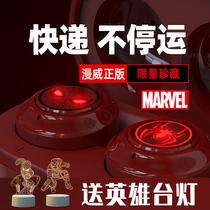 Marvel genuine joint brand iron man dual ear wireless Bluetooth headset spider man Memorial in ear wireless Sports