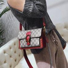 2018新款女士包袋双根小方包欧美斜挎单肩手提包