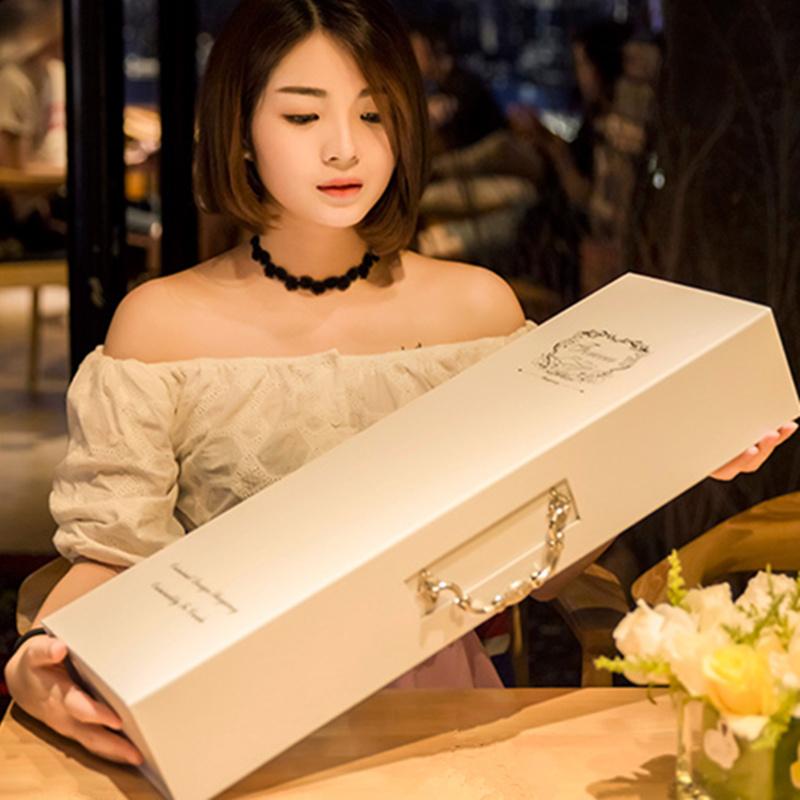 圣诞情人节德芙巧克力礼盒装送女友创意心形浪漫表白生日礼物