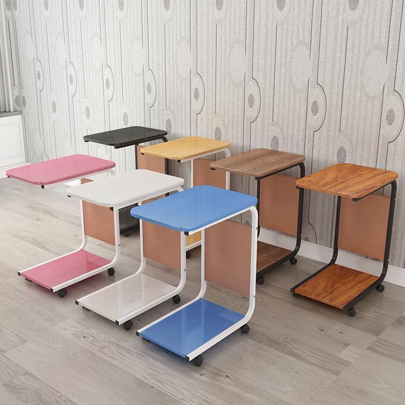 边几可移动小茶几简约沙发边桌边柜北欧角几方几床头小桌子置物架