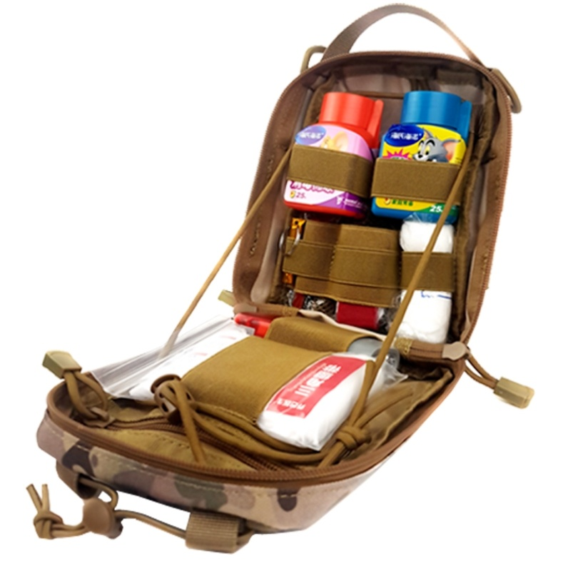 Vehicle emergency kit tool set multi-functional first aid kit life saving medicine kit for survival charter car supplies rental room