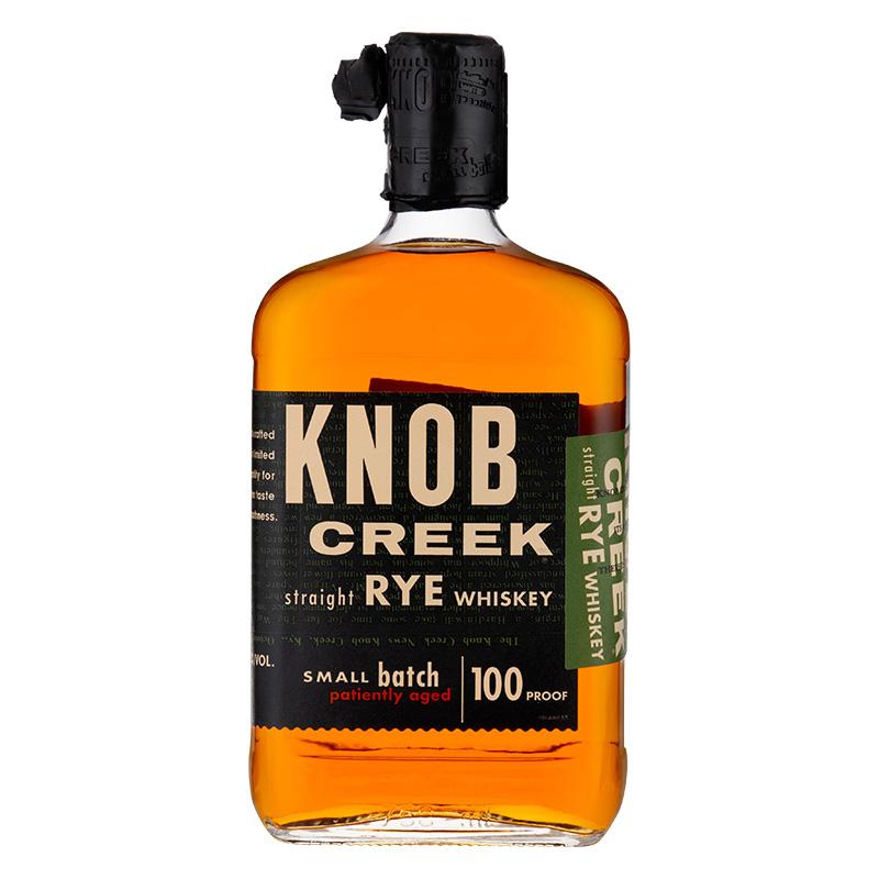 宾三得利 诺布溪黑麦波本威士忌 KNOB CREEK肯塔基威士忌750ML