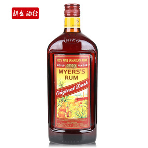 进口洋酒 烘焙 美雅士朗姆酒Mayers's Dark Rum 750ML 原装真品