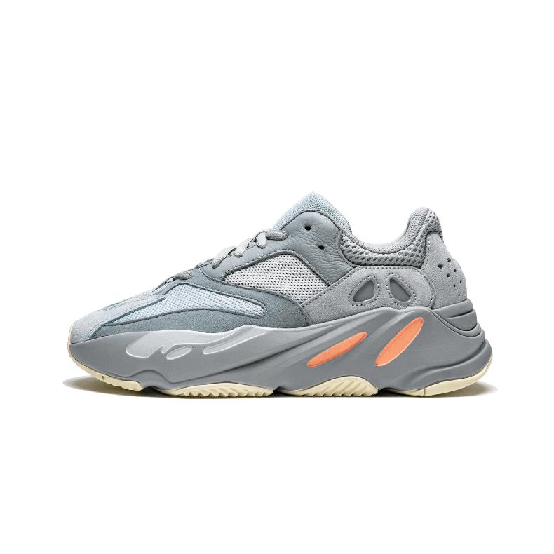 Adidas Yeezy Boost 700 Inertia灰粉椰子 侃爷复古老爹鞋 EG7597