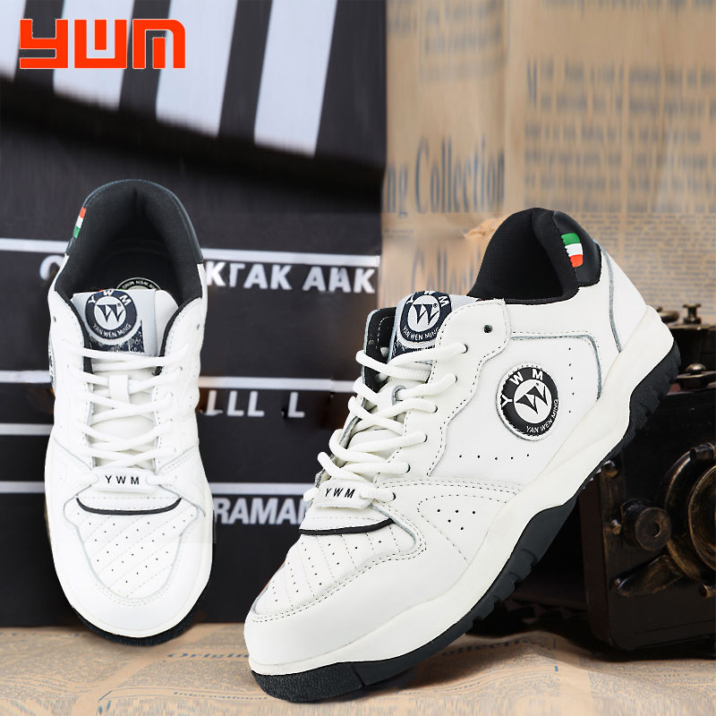 Yan Wenmings classic retro womens professional white tennis shoes in 2020