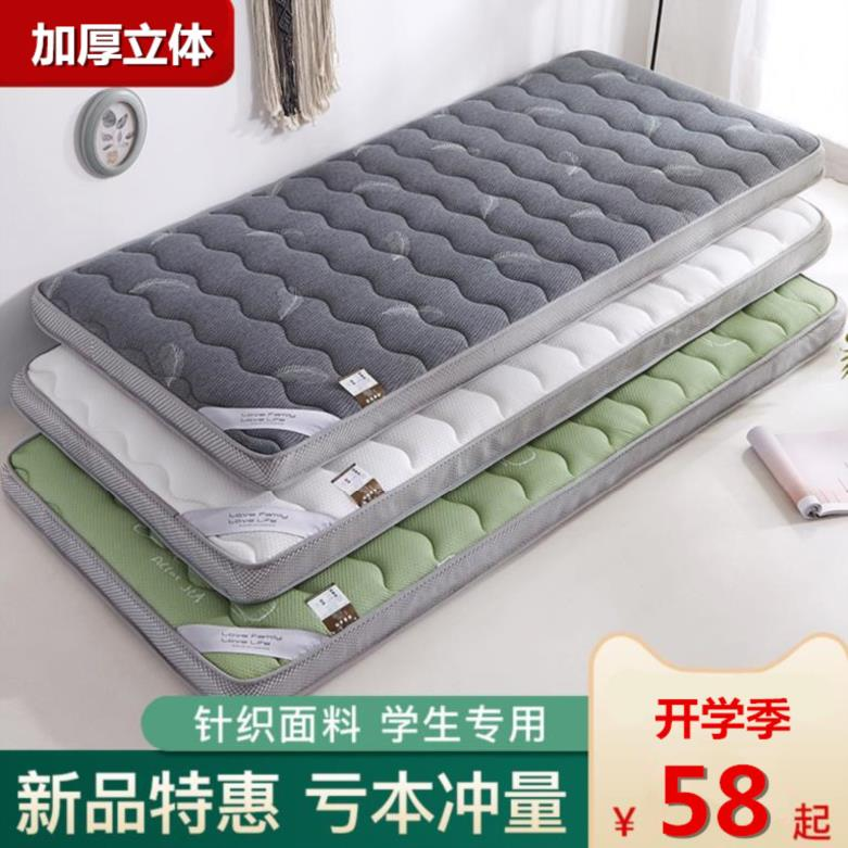 褥垫寝室宿舍床地铺睡垫床垫子儿童双人床卡通上下铺防滑套装软垫