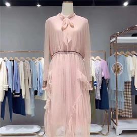 【9-99元】2020春装连衣裙气质显瘦女神范衣服中长款显瘦a字裙仙