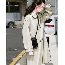 羊绒呢子大衣韩版茧型2020流行中长款双面毛呢外套女大码显瘦冬装