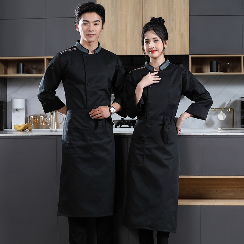 French dessert master clothing steak barbecue division work clothes pastry division uniform bakery workshop tooling Chef
