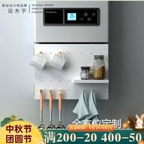 厨房热水器管线遮挡洞洞板室外燃气管道装饰遮挡罩免打孔遮挡柜