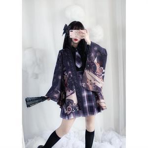 2021春季新款樱井美姬暗黑系漫展日式和服防晒外披jk羽织外套