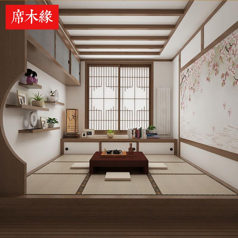 北京实木榻榻米定制卧室客厅书房