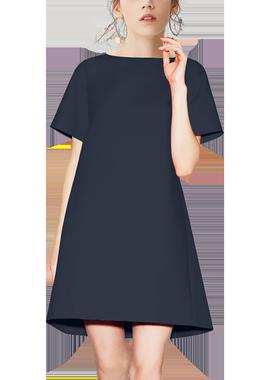 卓芙莱气质女神范夏中长款连衣裙