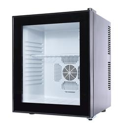 迷你小冰箱透明玻璃门食品留样柜酒店客房用冰柜茶叶面膜冷藏柜