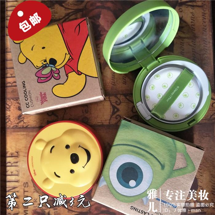 韩国THE FACE SHOP菲诗小铺 Disney迪士尼气垫BB霜CC霜遮瑕粉底液图片