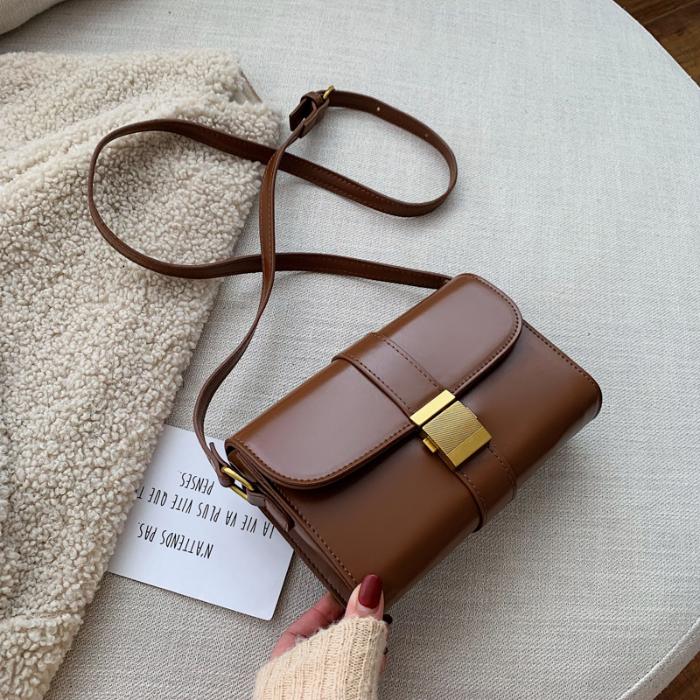 MAKU2019新款秋冬时尚高级感小方包韩版百搭斜挎单肩包潮小包包