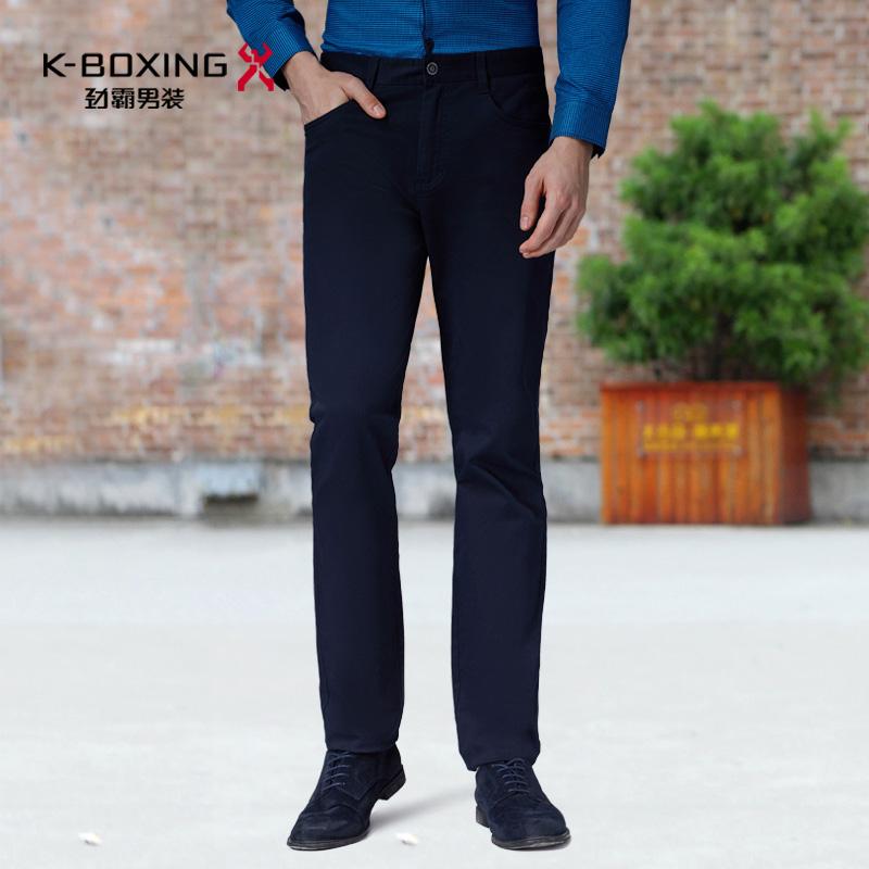 劲霸男装休闲裤 夏季新款薄款灰色男裤子商务休闲长裤男|BQXL2528