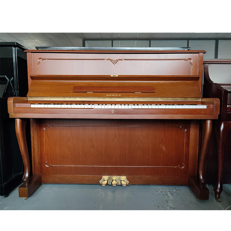 韩国进口二手钢琴三益SAMICK初学立式琴家用练习晋升88键118高