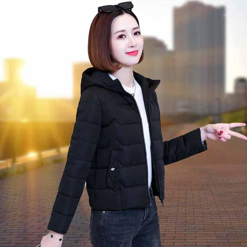 羽绒棉服女冬装年新款棉衣韩版宽松妈妈棉袄短款加厚袄子外套2019