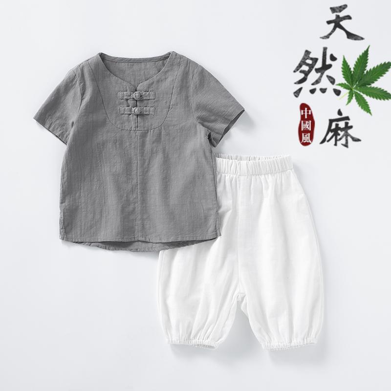 11-08新券中国风童装儿童套装夏装新款汉服
