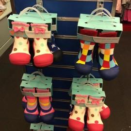 正品Luvena Fortuna婴儿地板袜鞋宝宝防滑袜子学步儿童地板鞋胶底