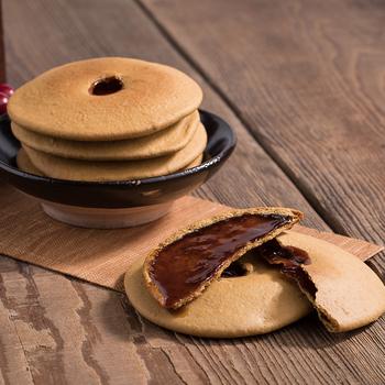 潮汕特色红糖肚脐饼独立礼盒装240g红糖酥特产糕点地方零食小吃