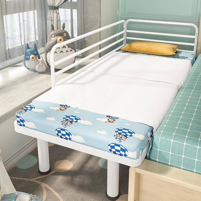 郡宜家具铁艺儿童床男孩单人床女孩公主床宝宝小床边床加宽床婴儿
