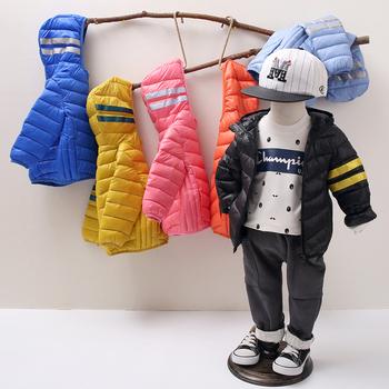 男宝宝薄款棉衣男童儿童棉服女童轻薄洋气小童装棉袄外套春秋冬季