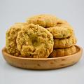 宁波特产 葱油桃酥零食小吃饼干糕点300克袋装