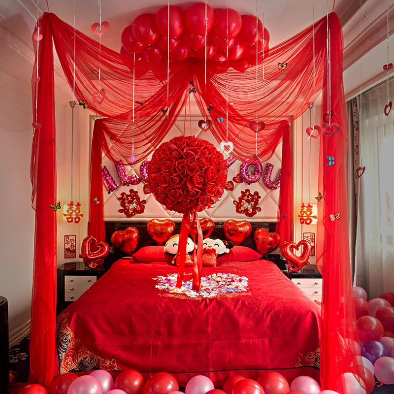 Творческие свадебные макеты свадебное Цветочный романтический цветок свадебное Поставка Свадебный пакет Lahua Спальня новый дом