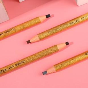 正品享丝金色拉线眉笔1818眉笔拉线笔影楼化妆眉笔一字眉彩妆包邮