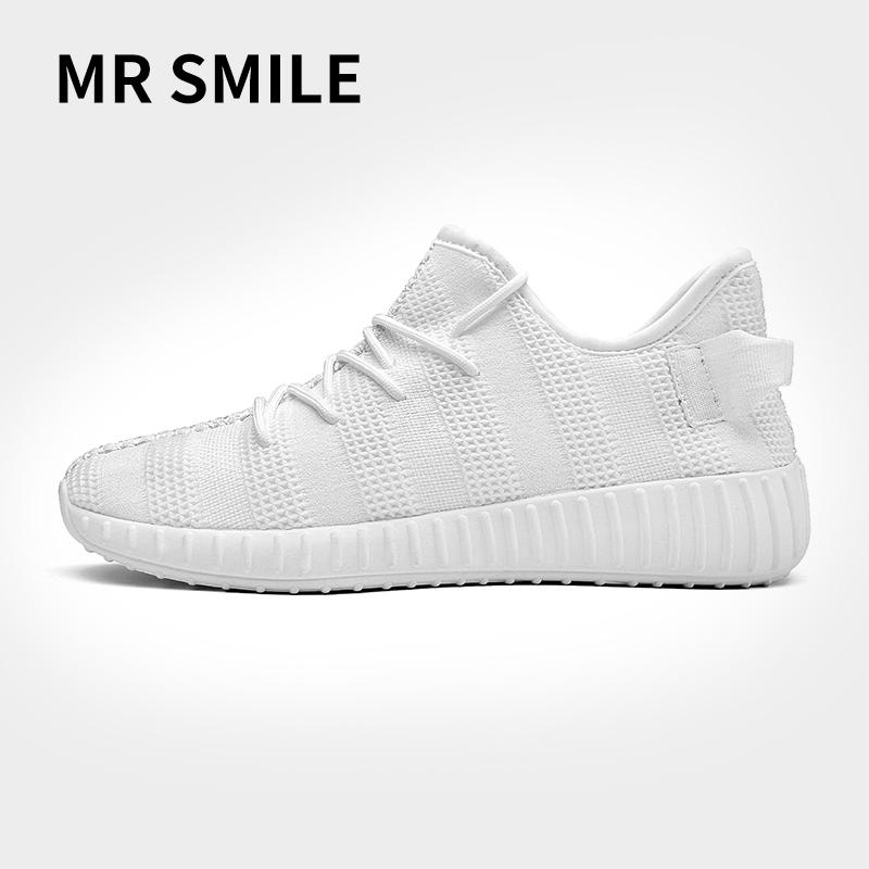 微笑先生嘻哈鞋潮牌透�庑蓍e鞋�\�有�鞋跑步鞋板鞋精神小伙社��鞋
