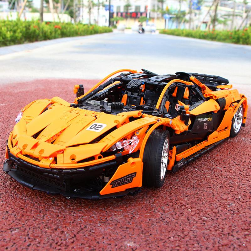 宇星13090科技系列p1赛车积木玩具(非品牌)