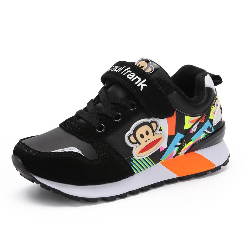 大嘴猴童鞋男童鞋子春秋潮2016小學生女童 鞋兒童 鞋跑步鞋