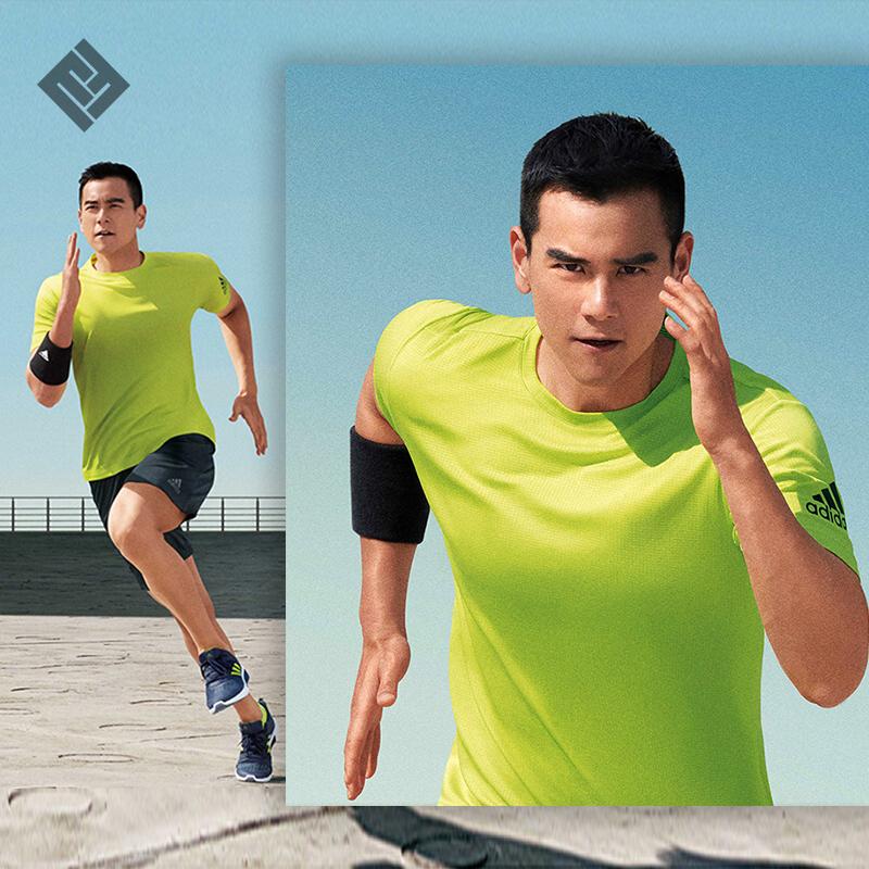 10月10日最新优惠阿迪达斯训练男短袖清冰风系列t恤