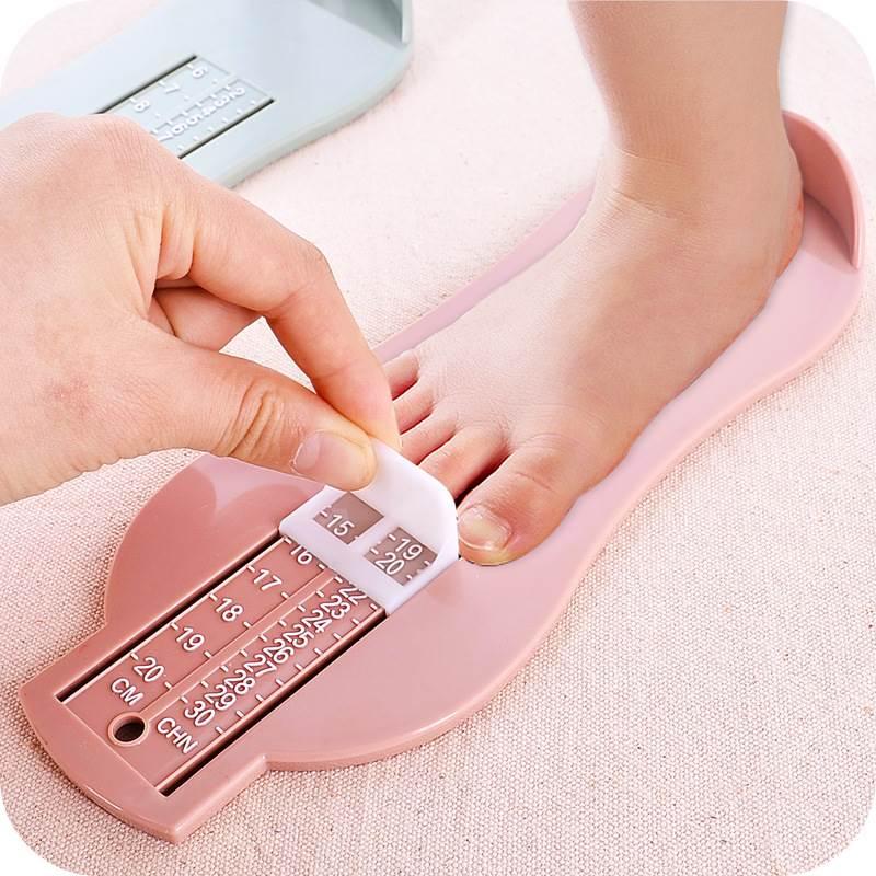 宝宝买鞋量脚器 准确测量儿童脚长尺婴儿鞋子尺码量器 买鞋神器