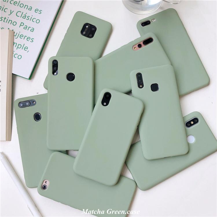 热销17件有赠品oppoA9X手机壳A83纯色A7X硅胶A5防摔A3S女款A79简约F11软F9