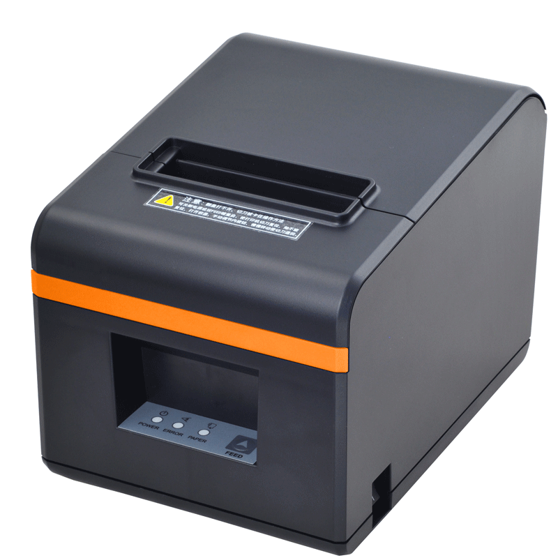 Xinye xp-n160ii meituan take out Internet portal kitchen kitchen kitchen kitchen food and beverage order menu cash register small ticket machine out of single dozen stand-alone Hua automatic paper cutting with knife Bluetooth thermal printer 80mm