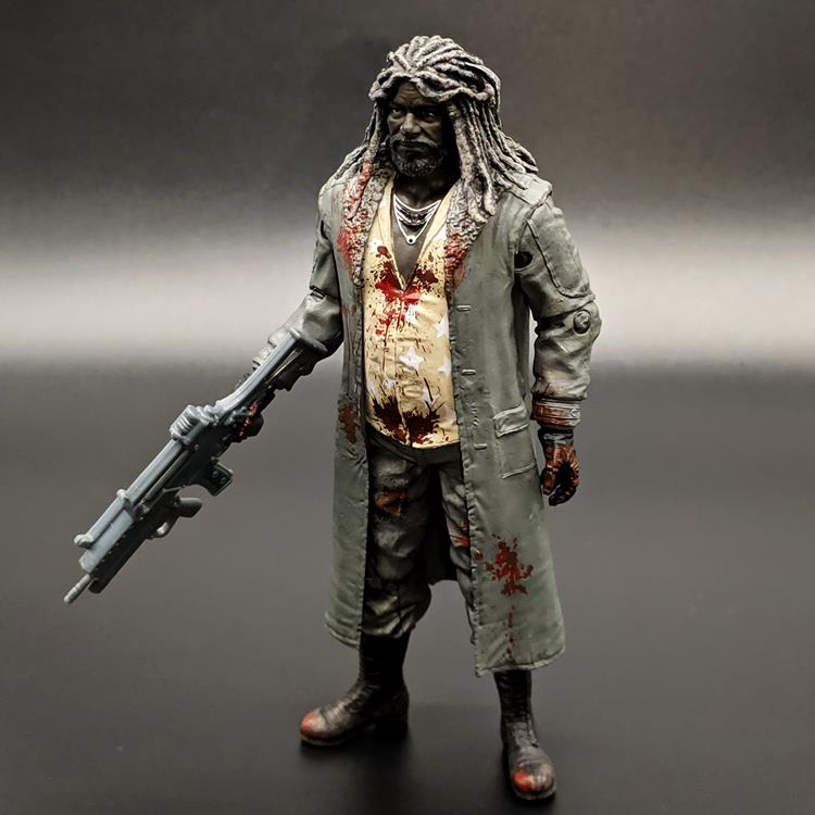 Walking dead biochemical crisis King West knot zombie 5-inch doll hand made model ornament McFarlane 5//
