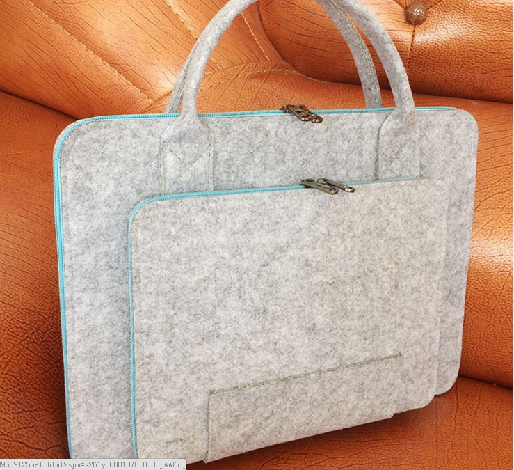 Laptop bag female Apple 13.3 Dell ASUS 11 inch 14 / inch 17 inch felt notebook liner package