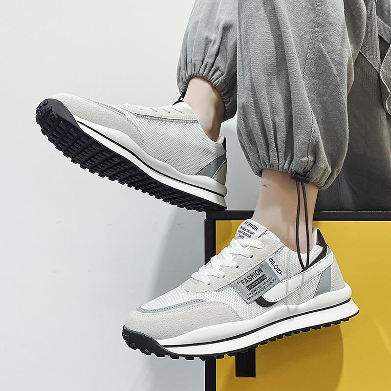 2021新款春季阿甘小白网面板鞋男鞋评价好不好